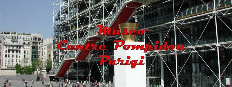 foto museo pompidou parigi