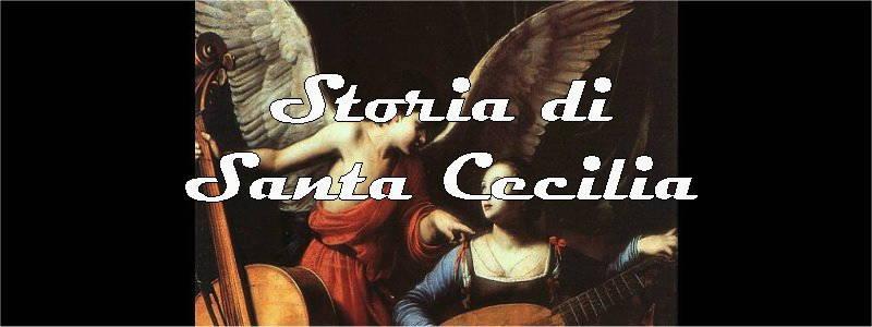 storia di santa cecilia in arte