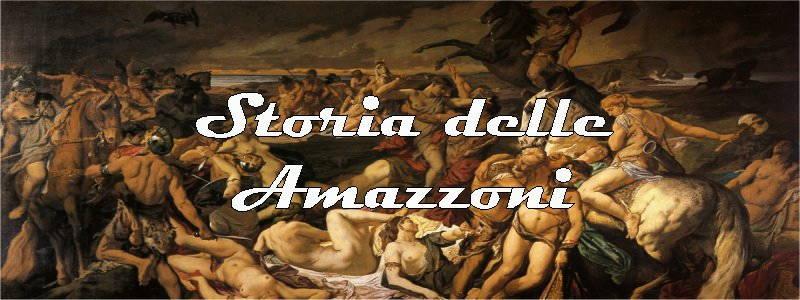 storia delle amazzoni in arte