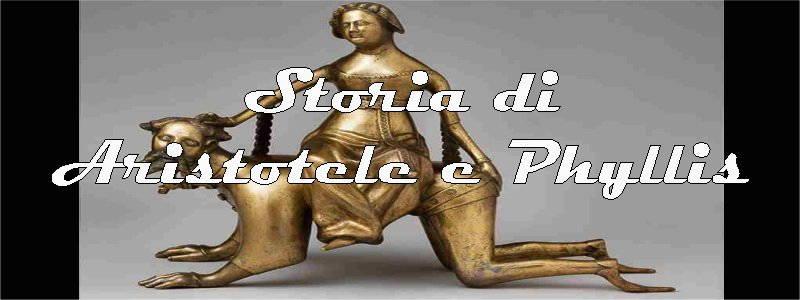 storia di aristotele e phyllis