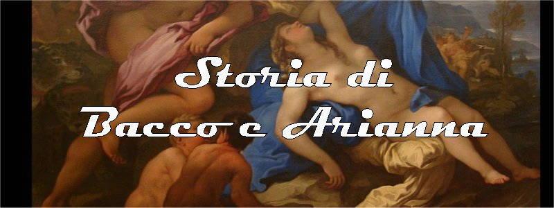 storia di bacco e arianna
