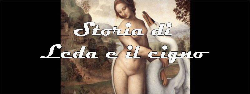 storia di leda e il cigno in arte