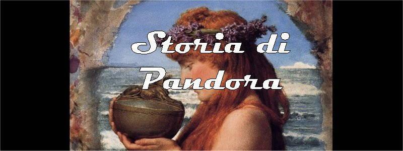 storia di pandora in arte
