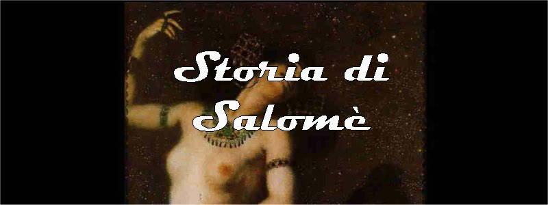 storia di salome in arte