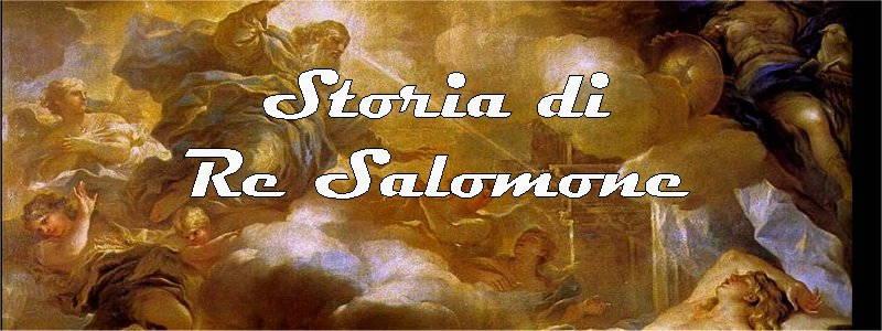 storia di re salomone in arte