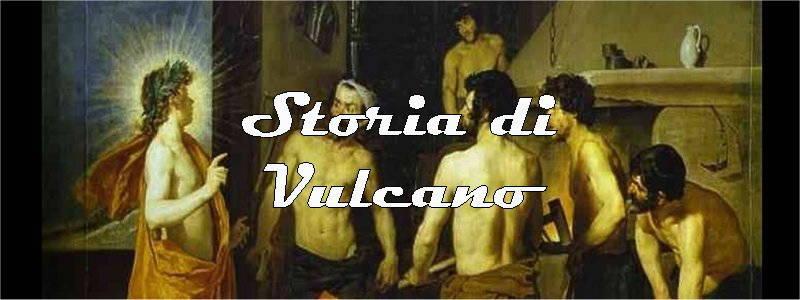 storia di vulcano in arte