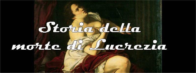 storia della morte di Lucrezia