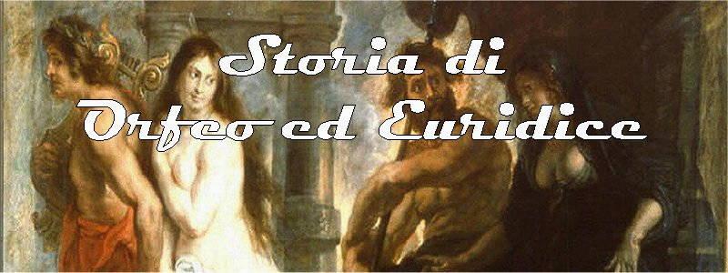 storia di orfeo ed euridice in arte