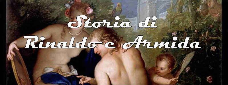 storia di Rinaldo e Armida in arte