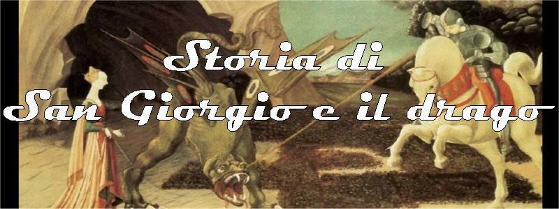 storia di san giorgio e il drago