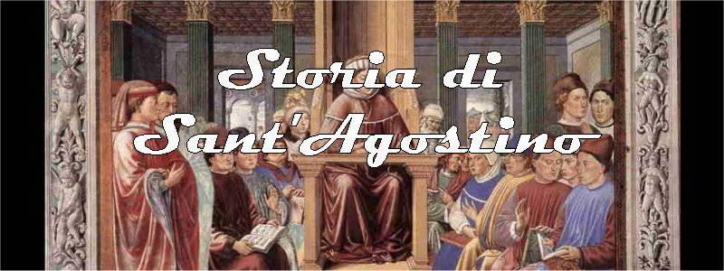 storia di sant agostino in arte