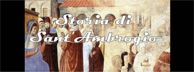 storia di sant'ambrogio