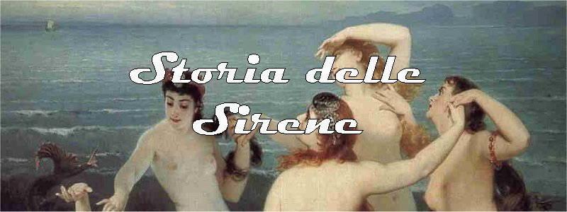 storia delle sirene in arte