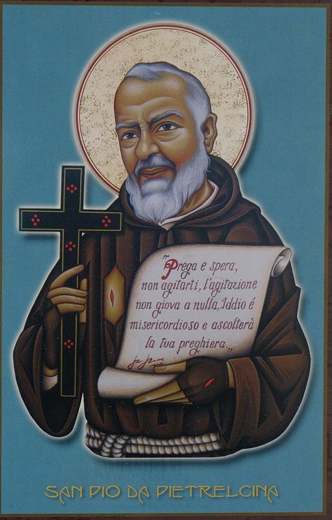 Padre Pio santino