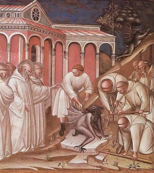 San Benedetto opera di Spinello Aretino