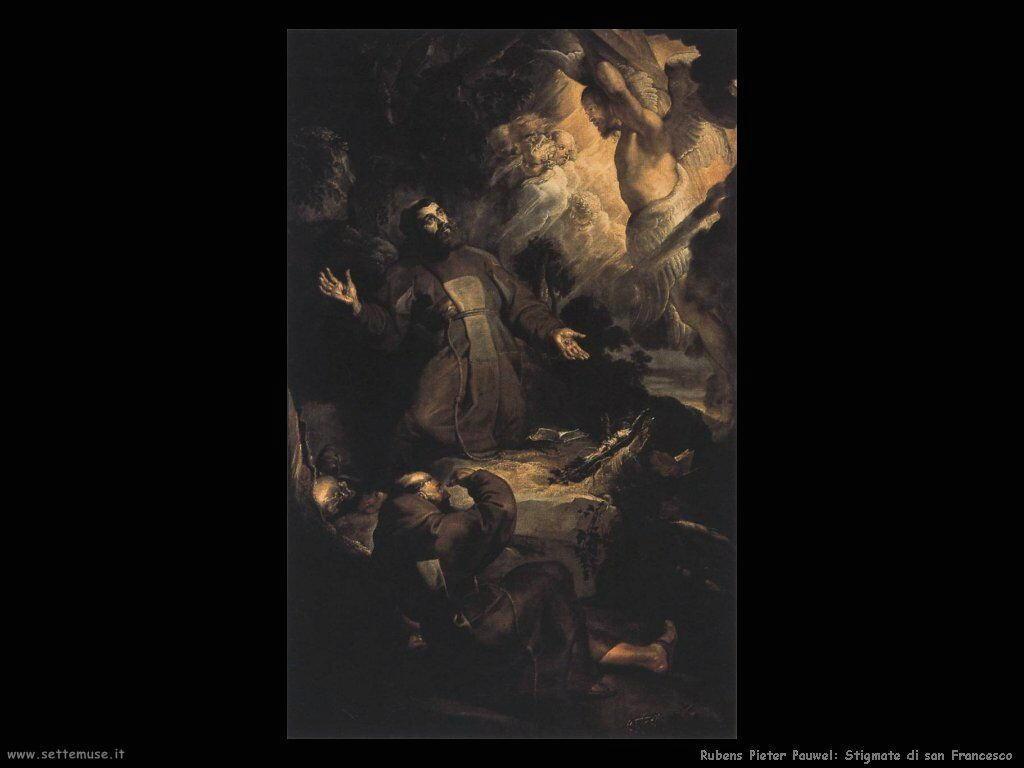 pieter paul rubens stigmate di san francesco