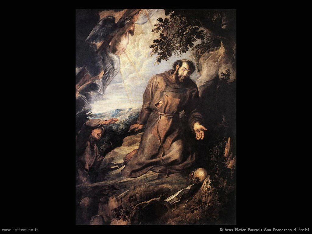 pieter paul rubens san francesco di assisi