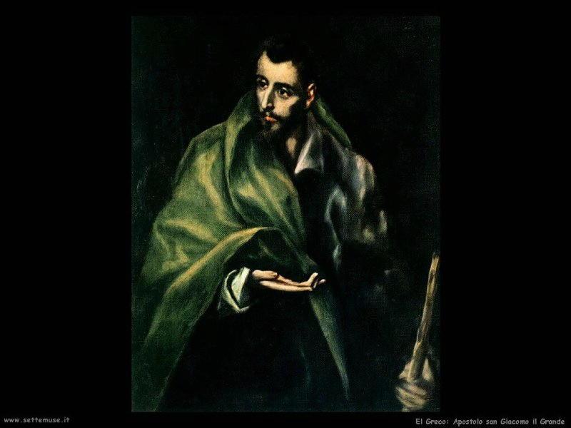 el greco apostolo san giacomo