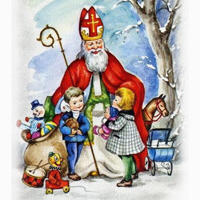 San Nicola e Santa Claus