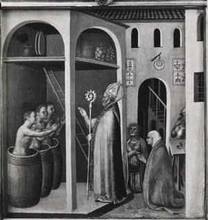 San Nicola e i tre fanciulli
