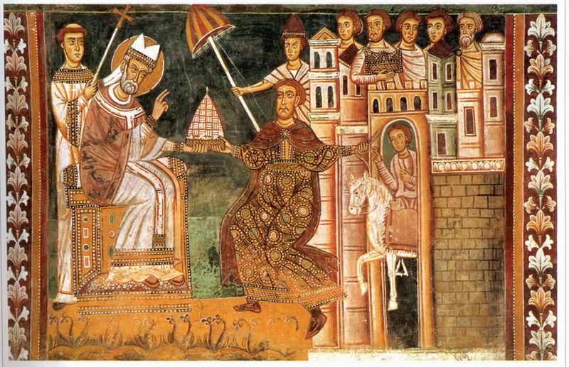 San Silvestro e Costantino