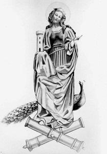 Santa Lucia patrona degli artiglieri