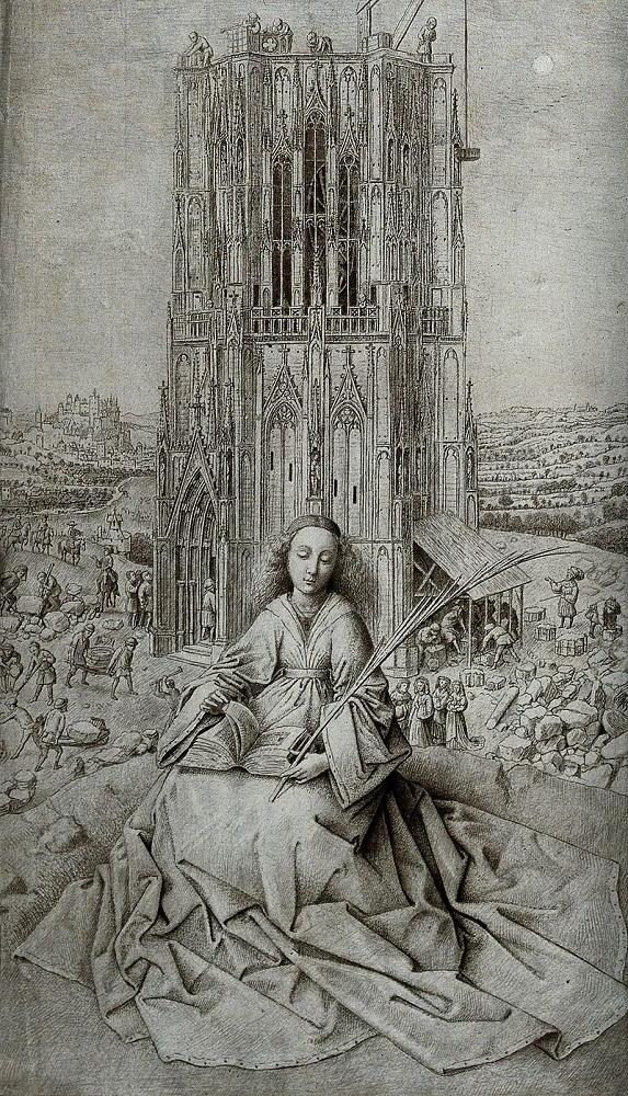 Santa Barbara di Jan van Eyck