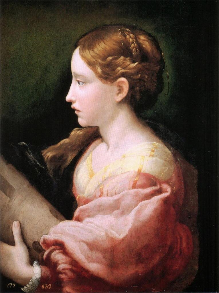 Santa Barbara del Parmigianino