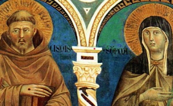Santa Chiara e San Francesco