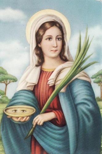 Santa Lucia: protettrice degli occhi