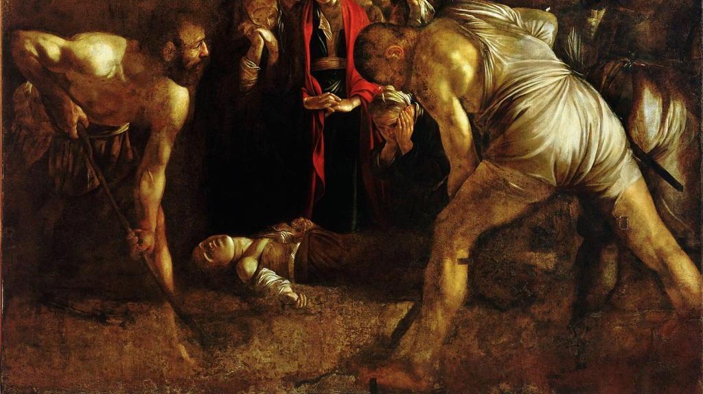 Santa Lucia: opera del Caravaggio