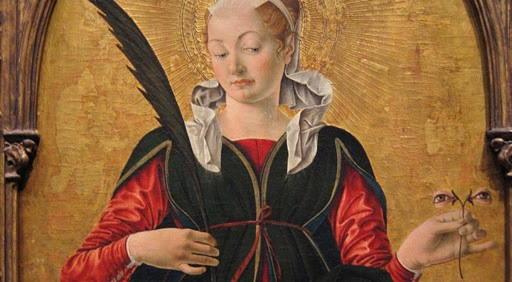 Santa Lucia protettrice della vista