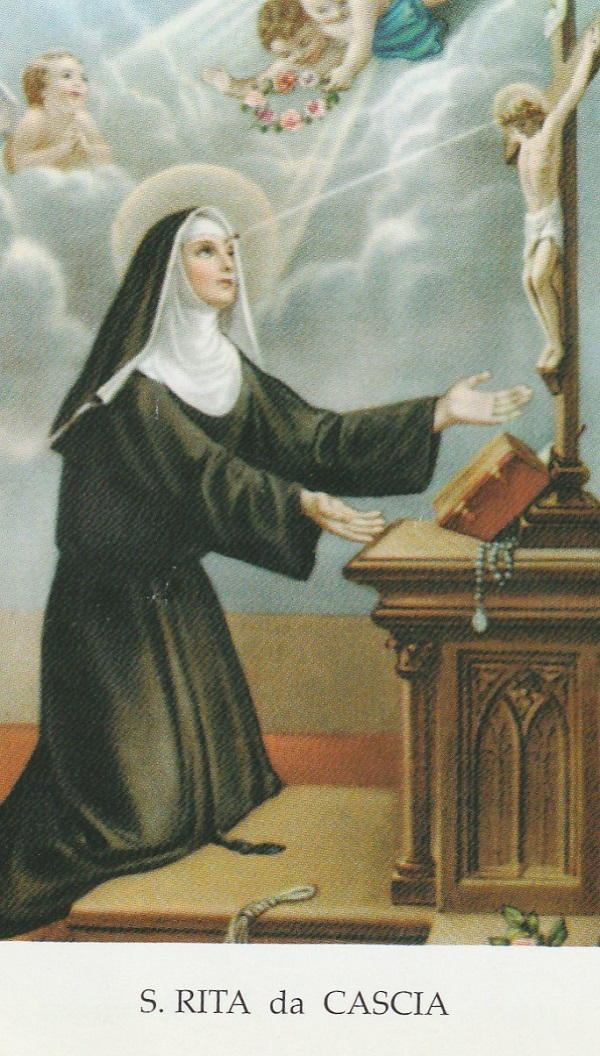 Santino di Santa Rita da Cascia