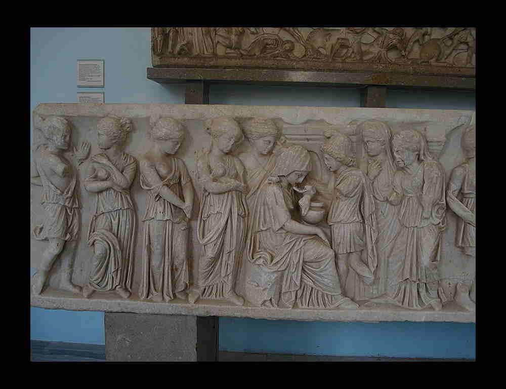 Sarcofago Arte Romana