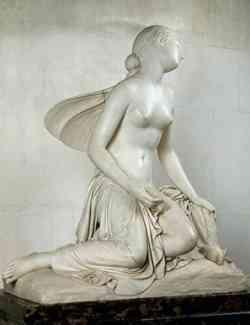 scultura di Amore e Psiche