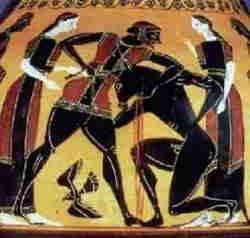 Arte greca Minotauro