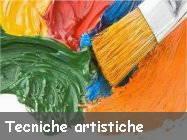 tecniche artistiche pittura scultura