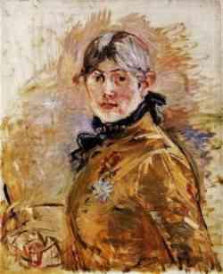 Berthe Morisot Autoritratto 1885