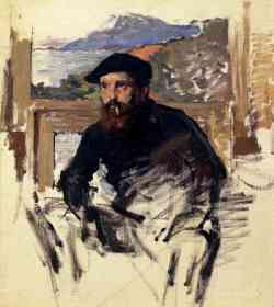 Claude Monet Autoritratto 1884