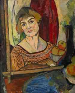 Suzanne Valadont autoritratto 1927
