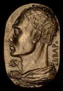 Autoritratto di Leon Battista Alberti