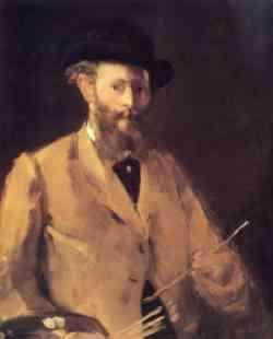 Edouard Manet  -  Autoritratto 1656