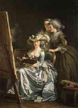 Autoritratto di Ad�la�de Labille-Guiard 1785