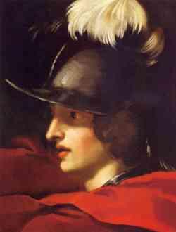 Autoritratto Giovanile di Bernini come Alessandro Magno