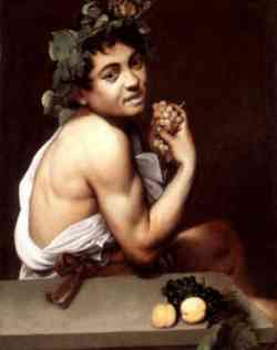 Caravaggio - Bacchino Malato - Autoritratto 1594