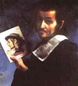 Autoritratto di  Carlo Dolci (1674)