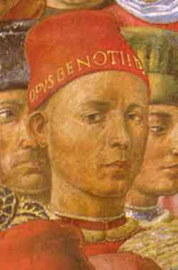 1459 Autoritratto di Benozzo Gozzoli