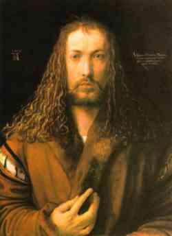 Autoritratto di Albrecht Dà¼rer del 1500