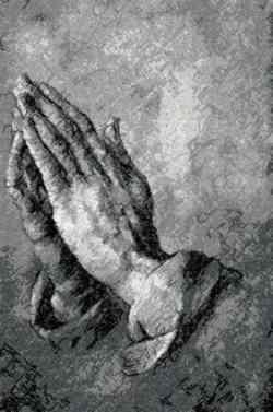 Mani in preghiera - Durer