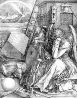 Albrecht Dà¼rer - Melancholia 1514